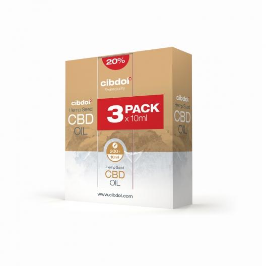 Olio Di Semi Di Canapa CBD Multipack 20%