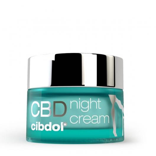 Crema Notte con CBD